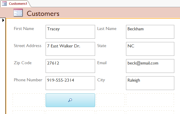 The form after moving several fields - www.office.com/setup