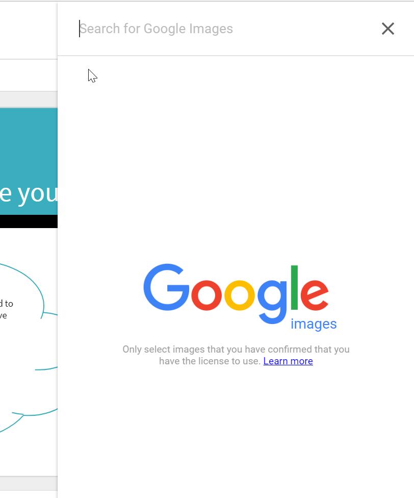 Χρησιμοποιώντας την αναζήτηση εικόνων Google