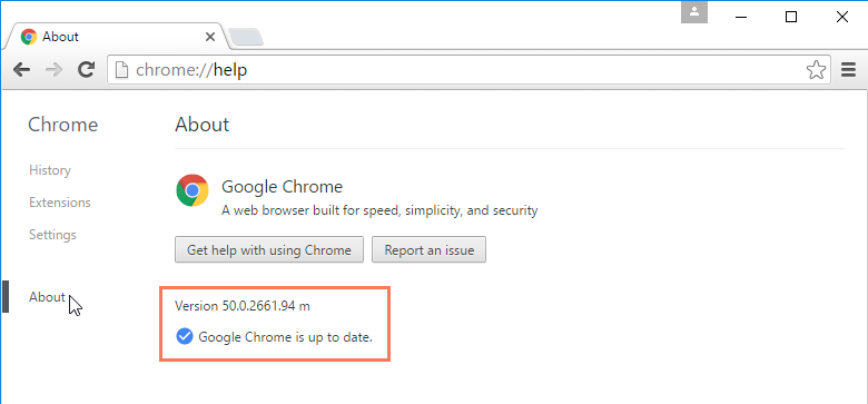 Google Chrome жаңыртуу