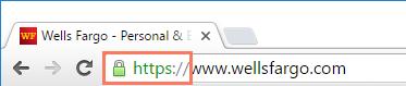 地址栏中的https符号