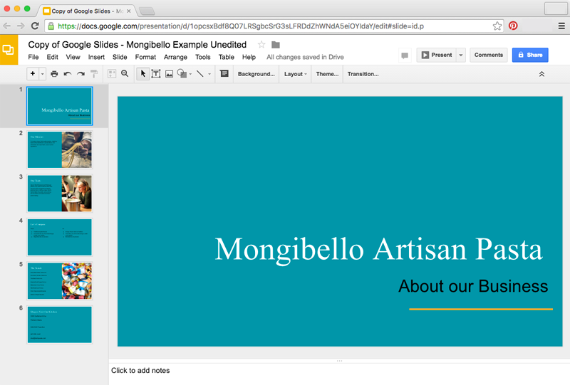 Google slides editing master slides and layouts full page for Page color google docs