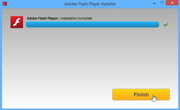 installere flash