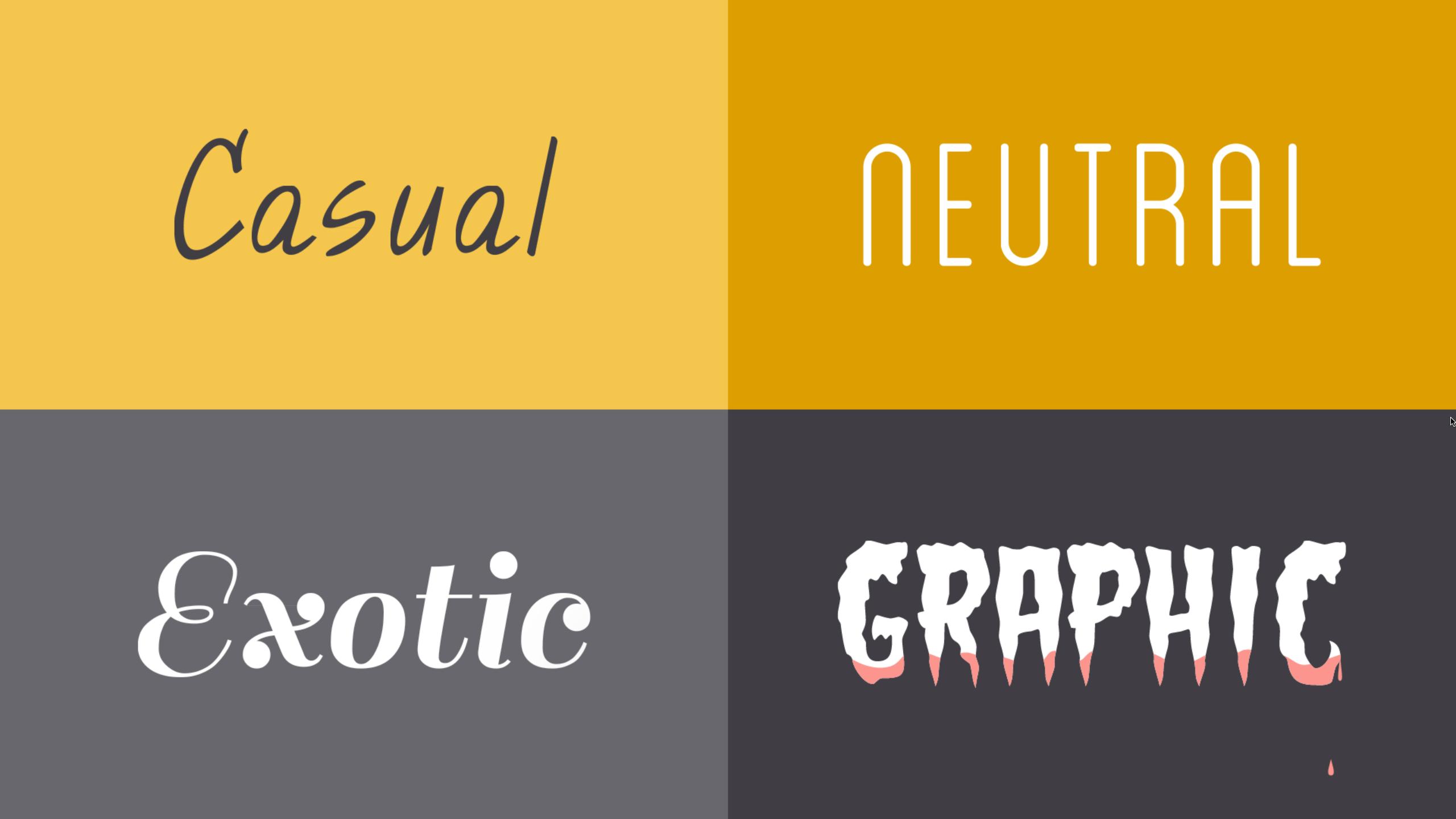 选择字体样式