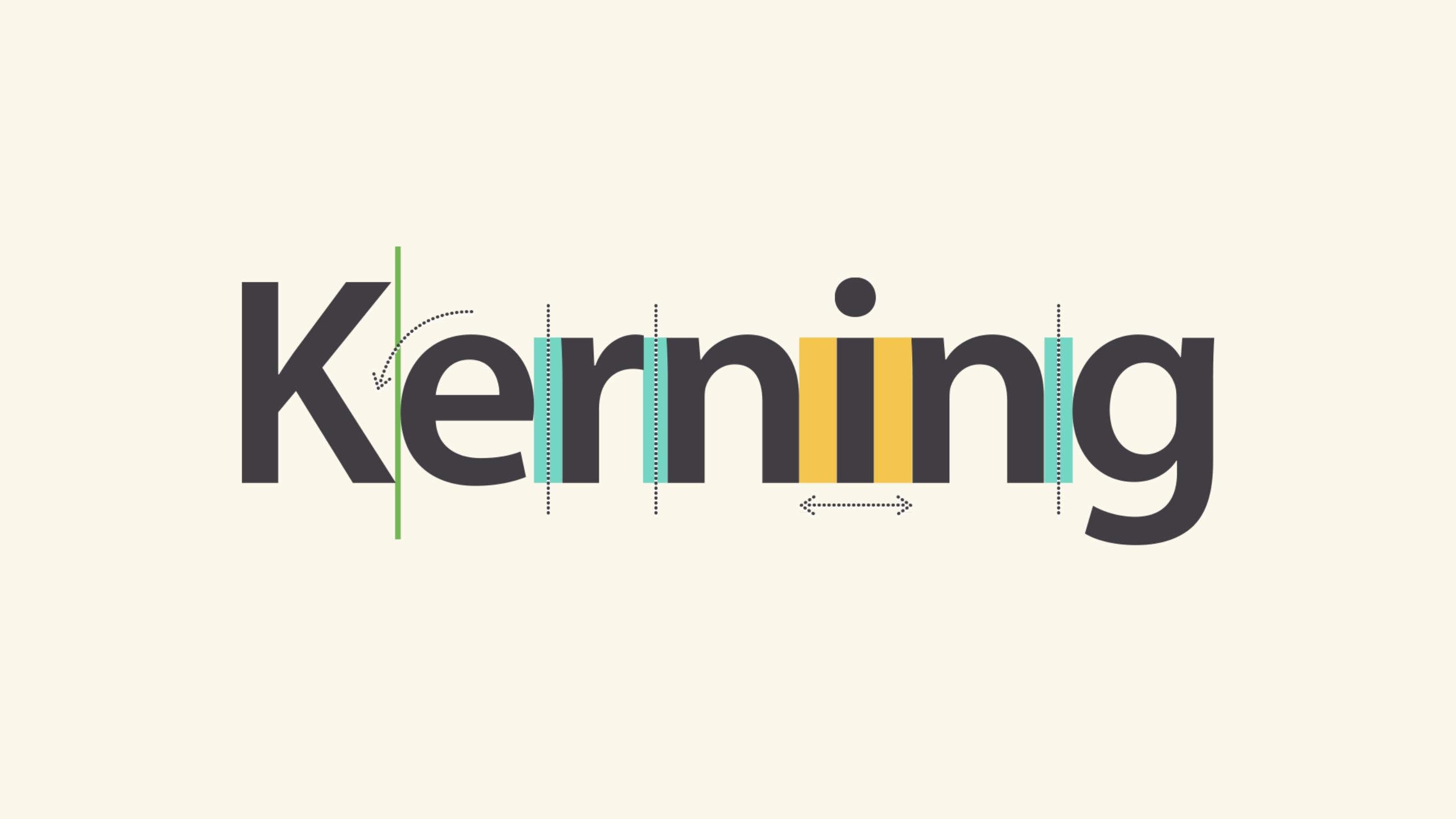 example of kerning
