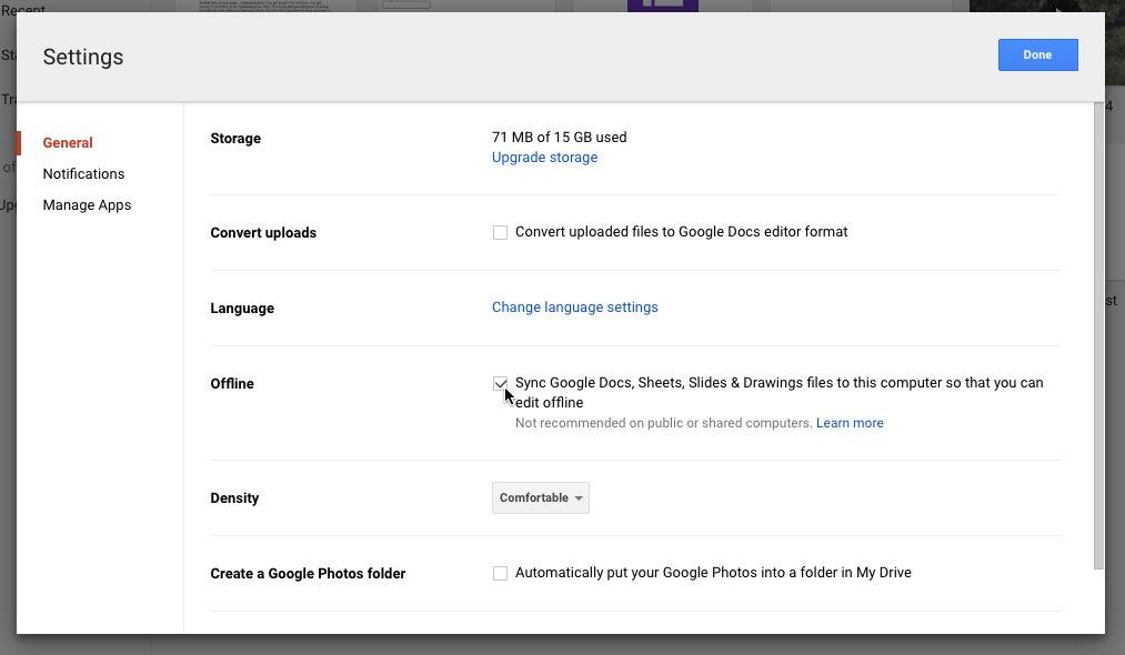 Google Docs Using Google Docs Offline Print Page - Google documents offline
