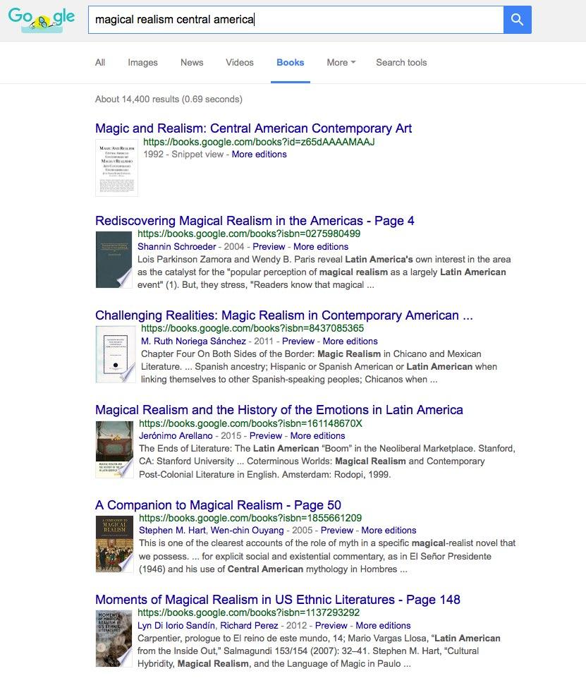 Google Tips: Google Books