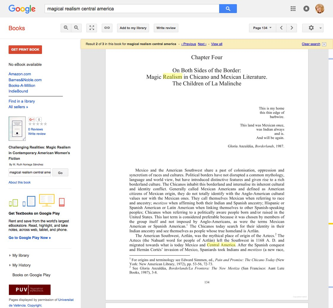 viewing a page from a book in Google Books