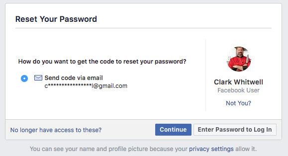 Facebook: Locked Out of Your Facebook Account?