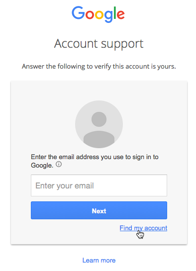 Google Account: Locked Out of Your Google Account? - Page 1