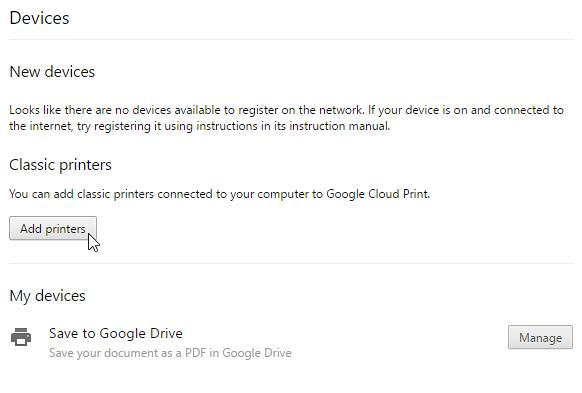 Chromebook Basics: Printing with a Chromebook