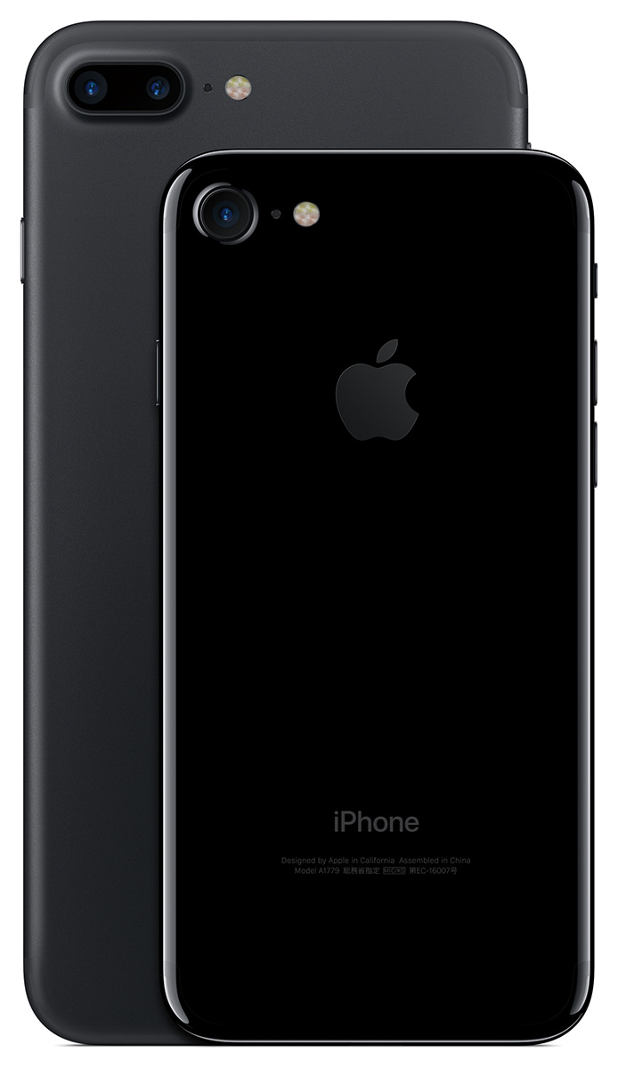iPhone 7 and 7 Plus comparison