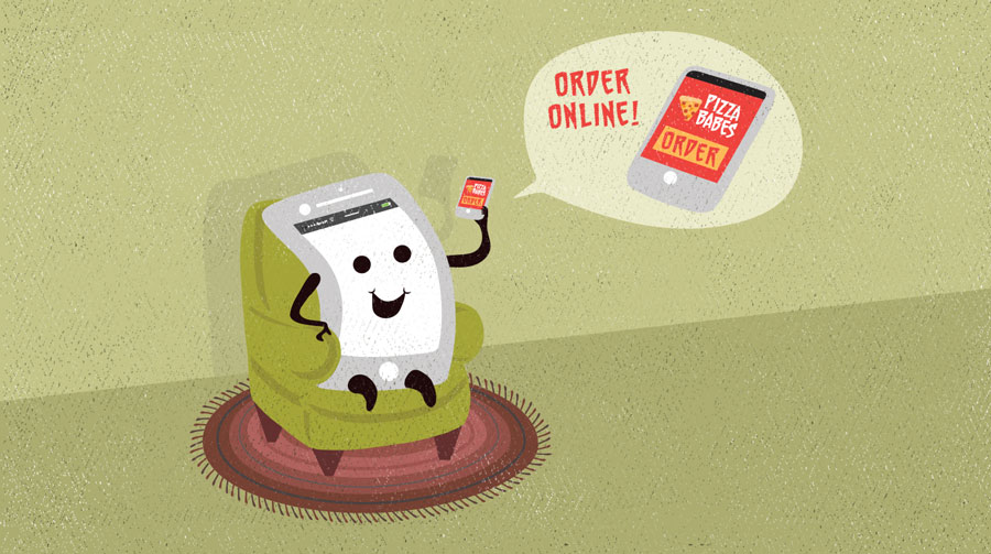 Using The Web To Get Stuff Done Ordering Food Online