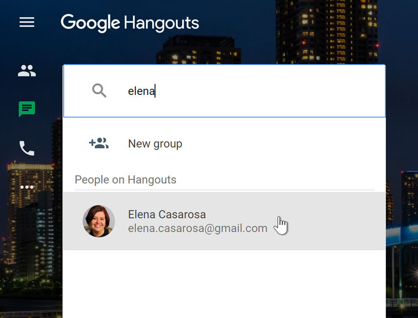 Google Hangouts: Video and Voice Calls