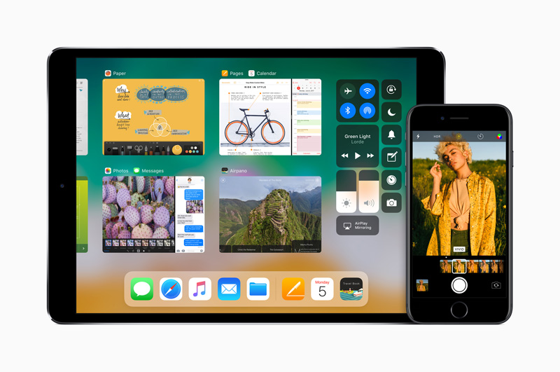 Image of iOS 11