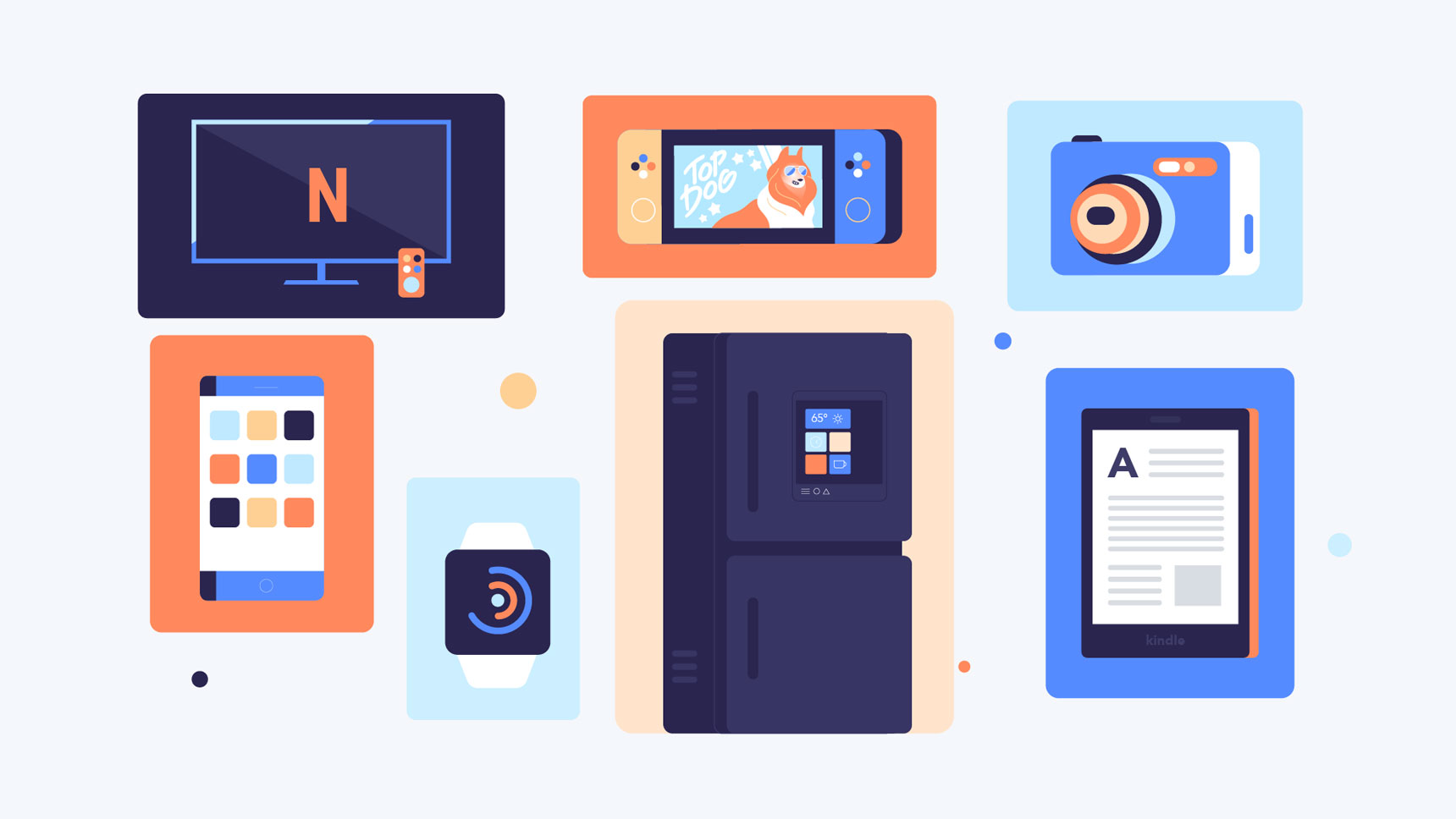 multiple devices for different purposes