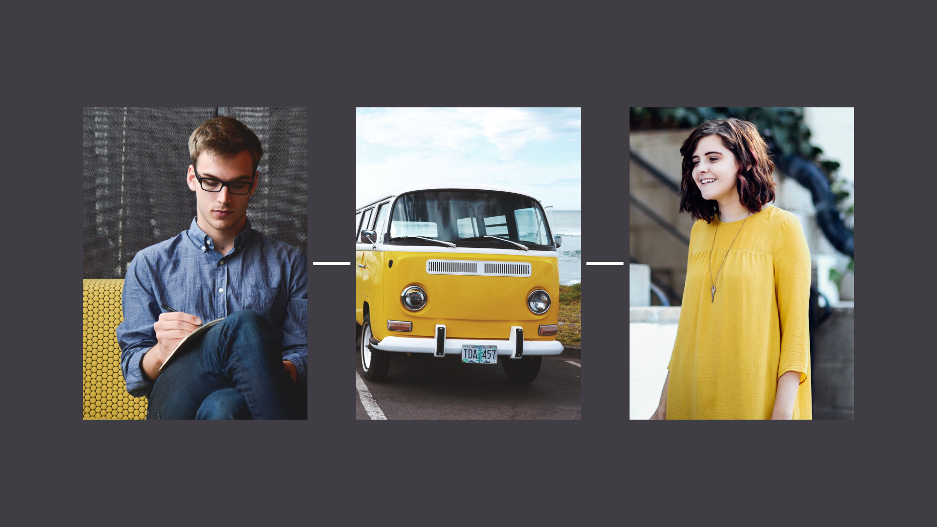 photos with yellow color scheme