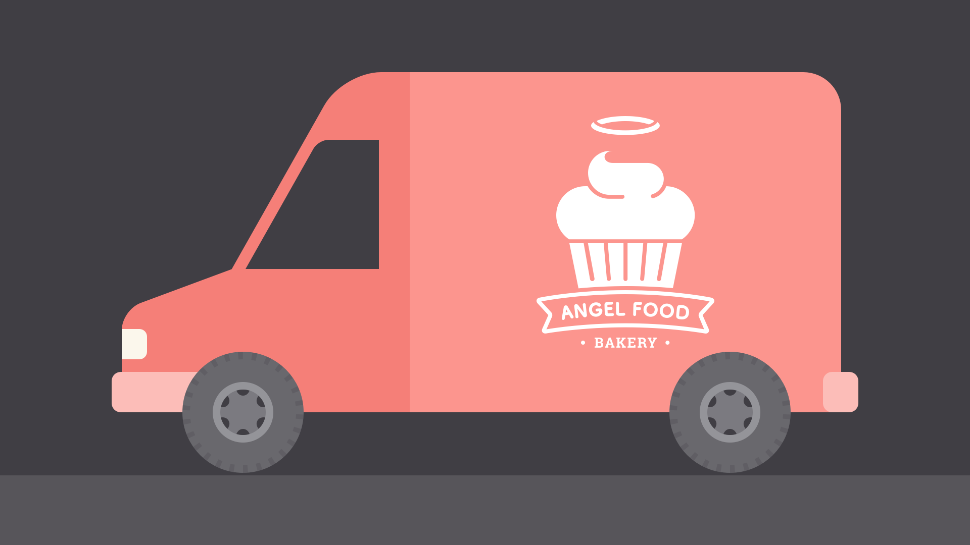 bakery deliver van