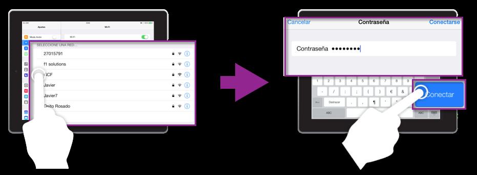 Pasos para conectarse a una red WiFi desde iOS