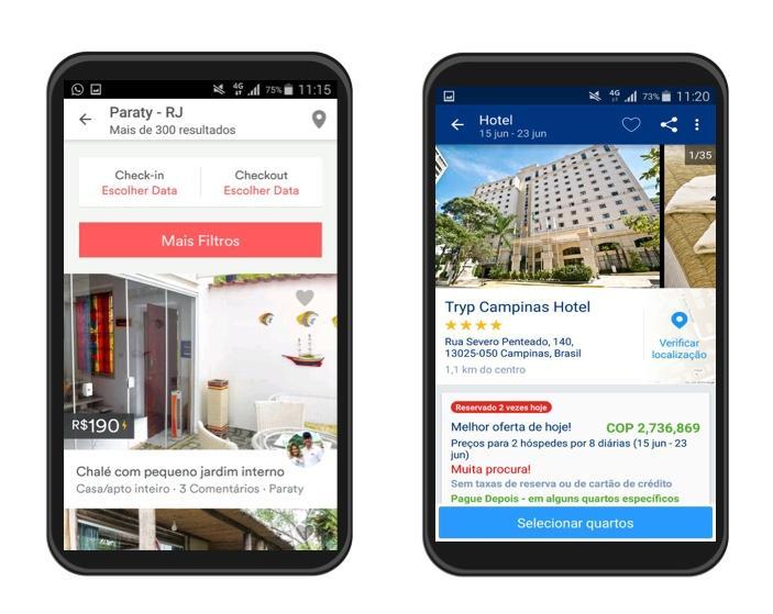 Com esses aplicativos, você pode dormir num único lugar e com um melhor preço.
