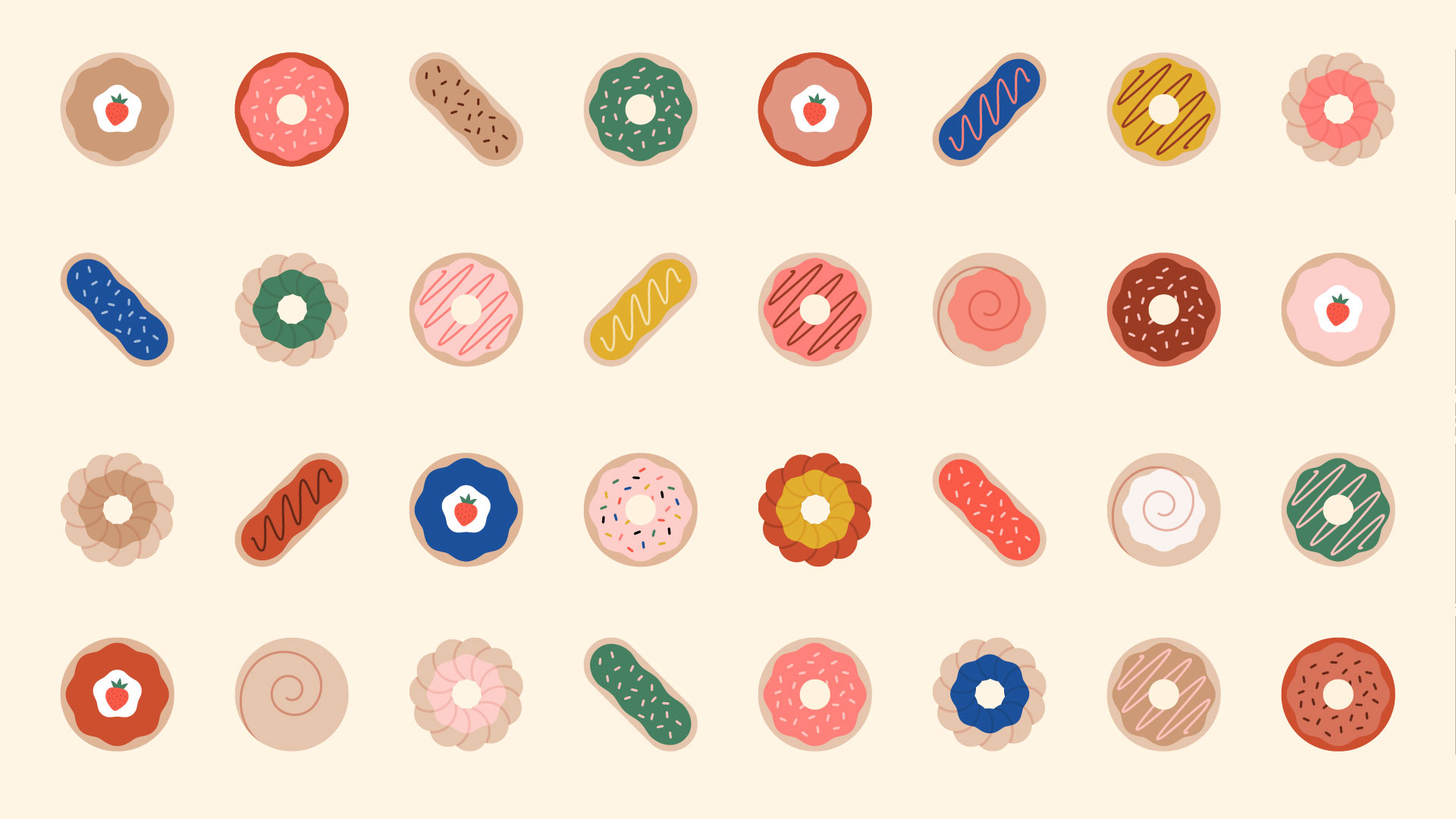 selection of donuts