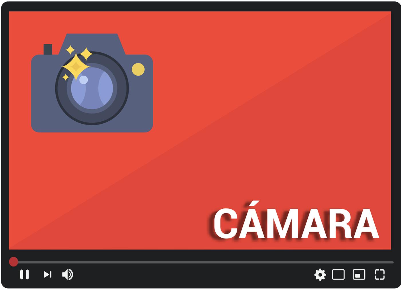 necesitarás ¡una cámara!, debe ser tu prioridad si deseas salir en pantalla o mostrar tu alrededor. S