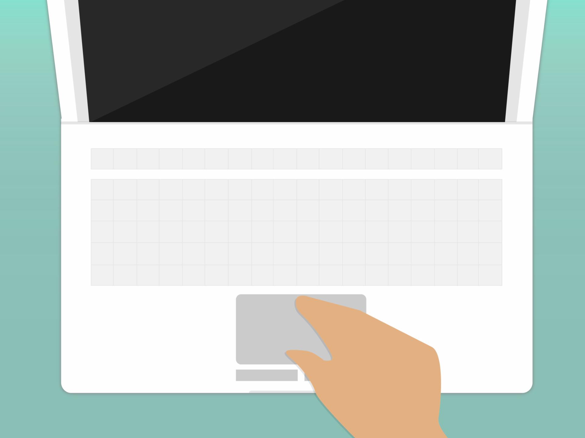 Touchpad é um mouse vinculado a um computador portátil.