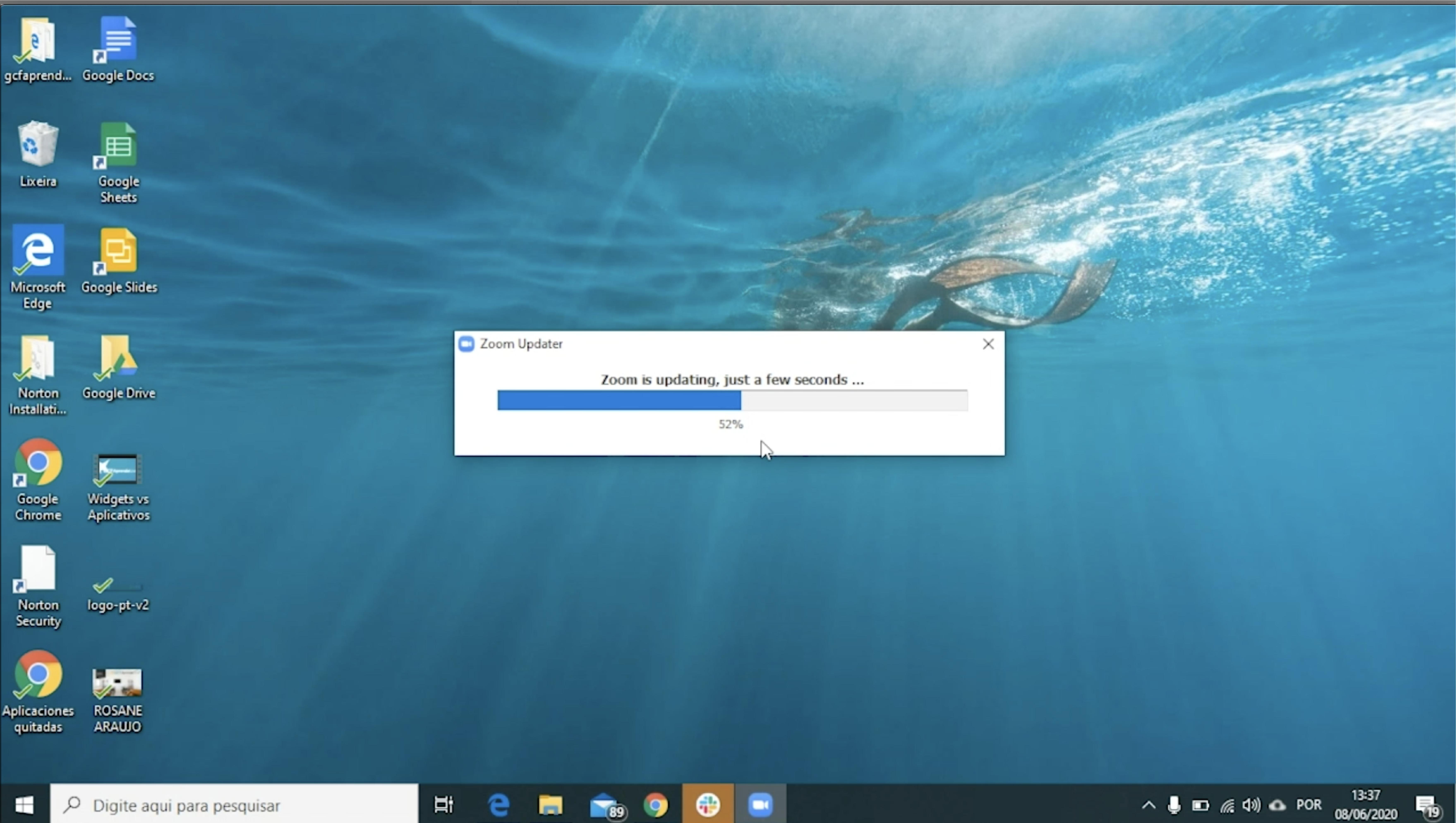 como atualizar o zoom no seu computador windows4