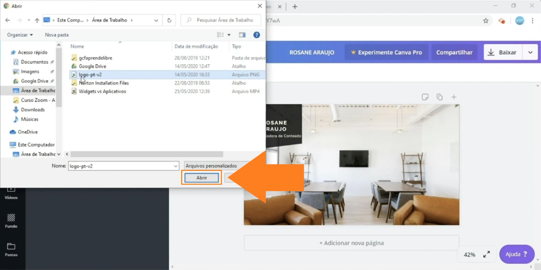 Imagem11 como criar um fundo virtual personalizado para o Zoom