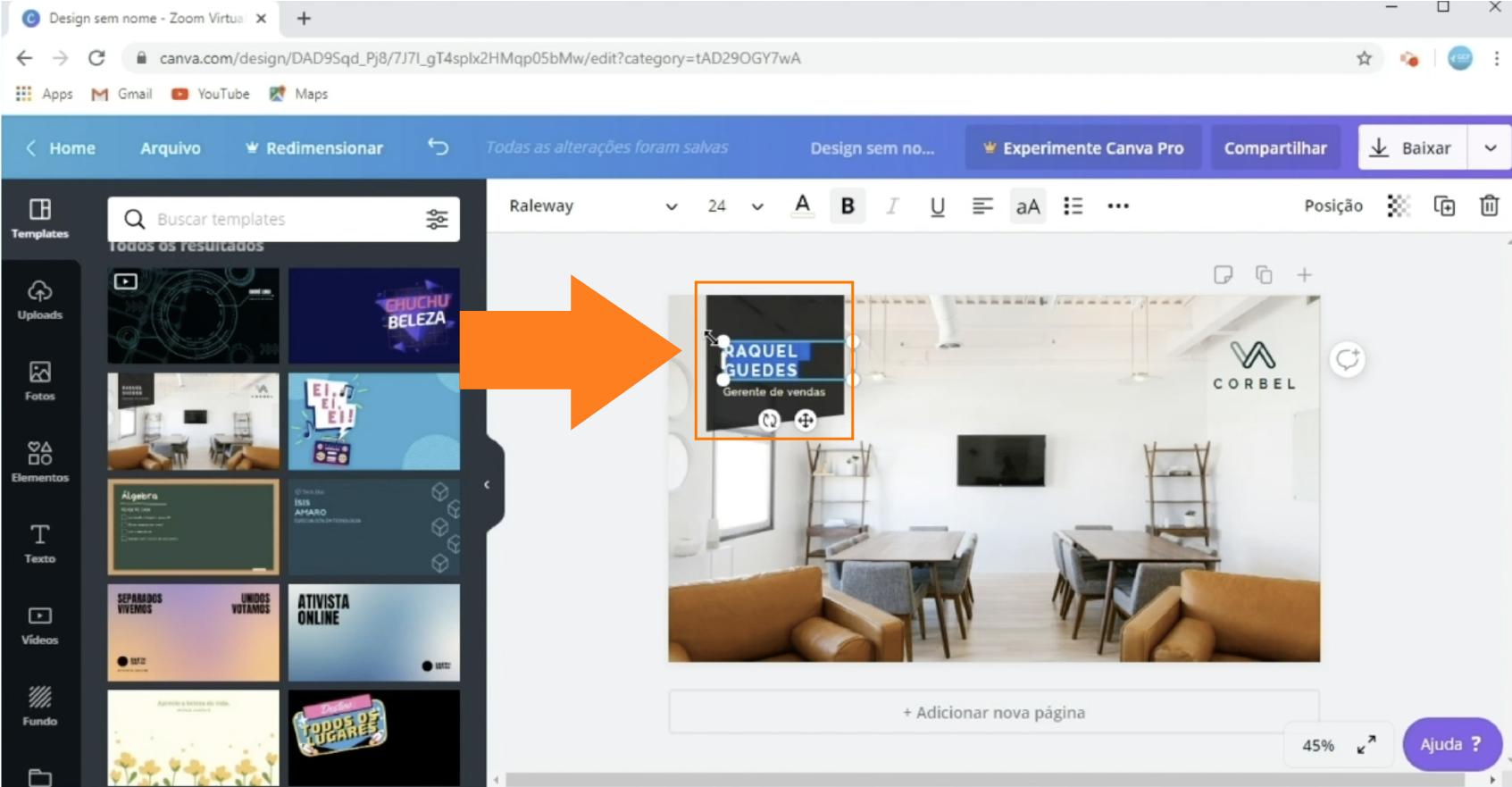 Imagem8 como criar um fundo virtual personalizado para o Zoom