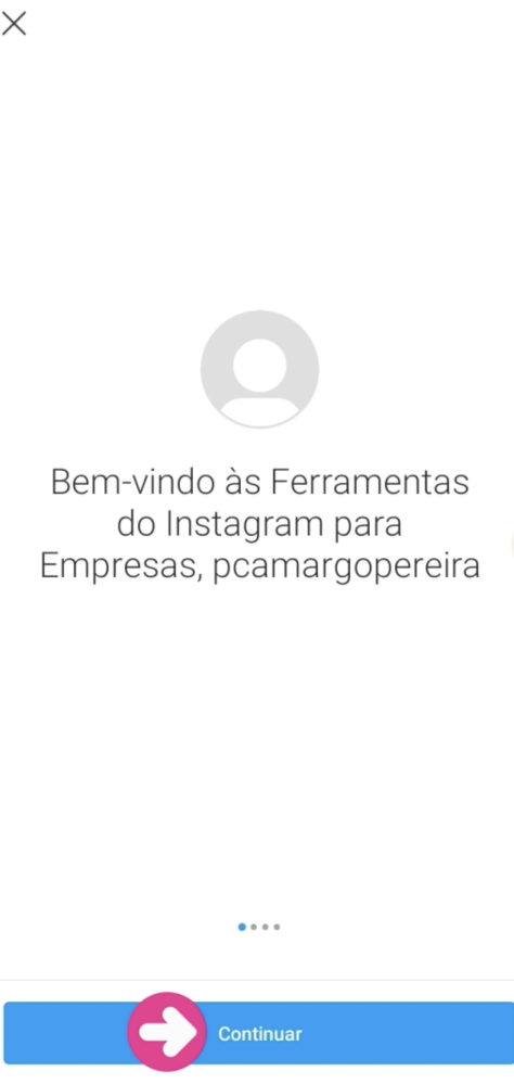 imagem 5 - criar conta instagram profissional