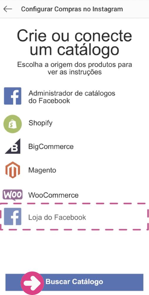 imagem 5 - criar loja no instagram
