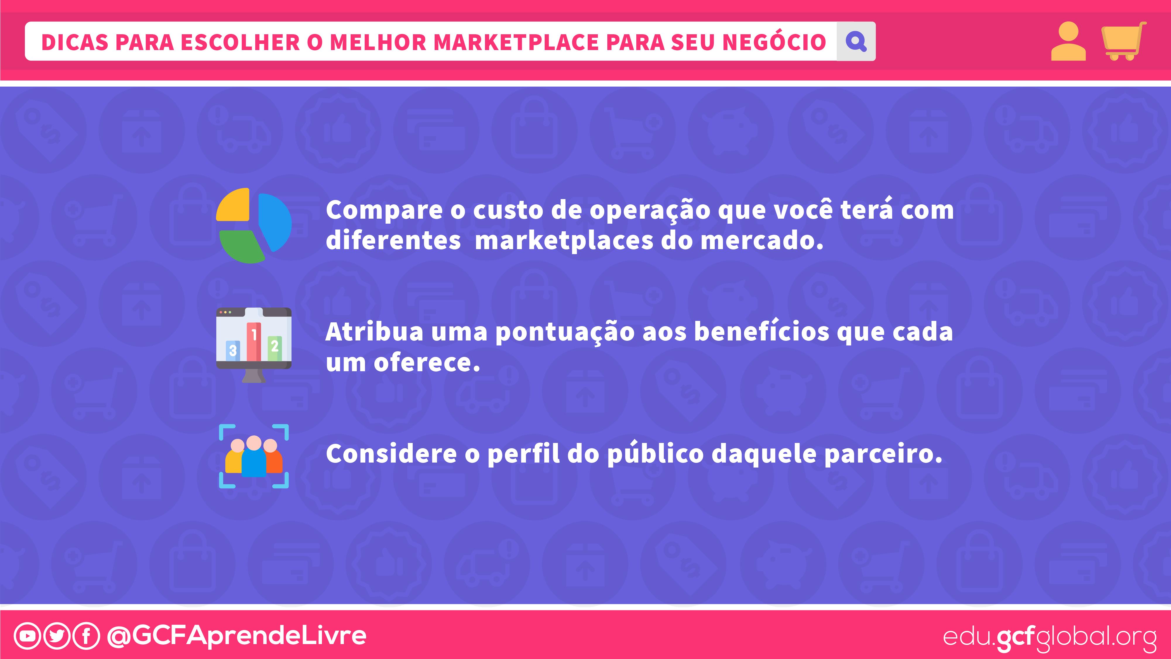 dicas para escolher o melhor marketplace para seu negócio - imagem1