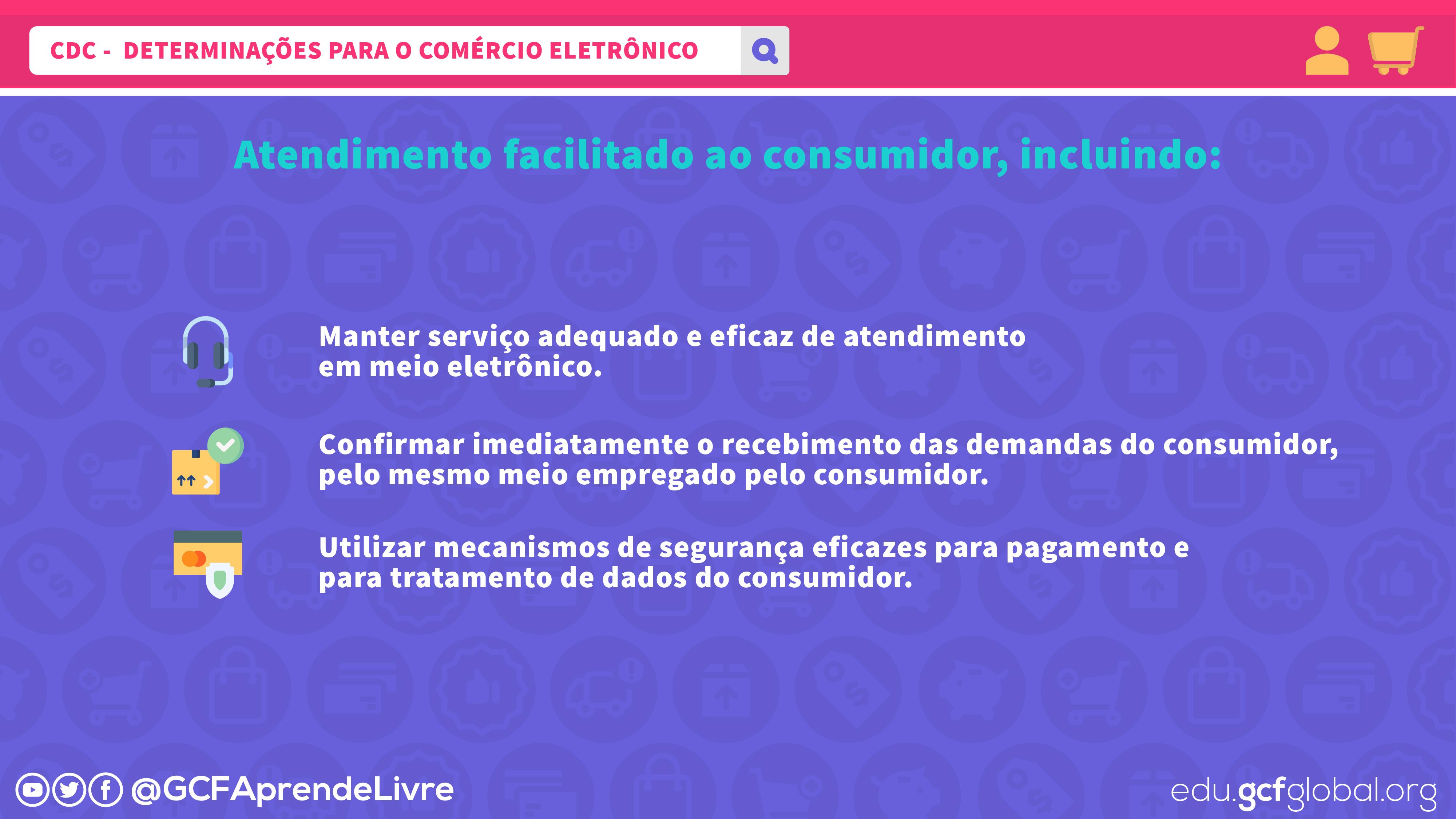 imagem 4 - determinações do CDC para atendimento ao consumidor do comércio eletrônico - parte 2