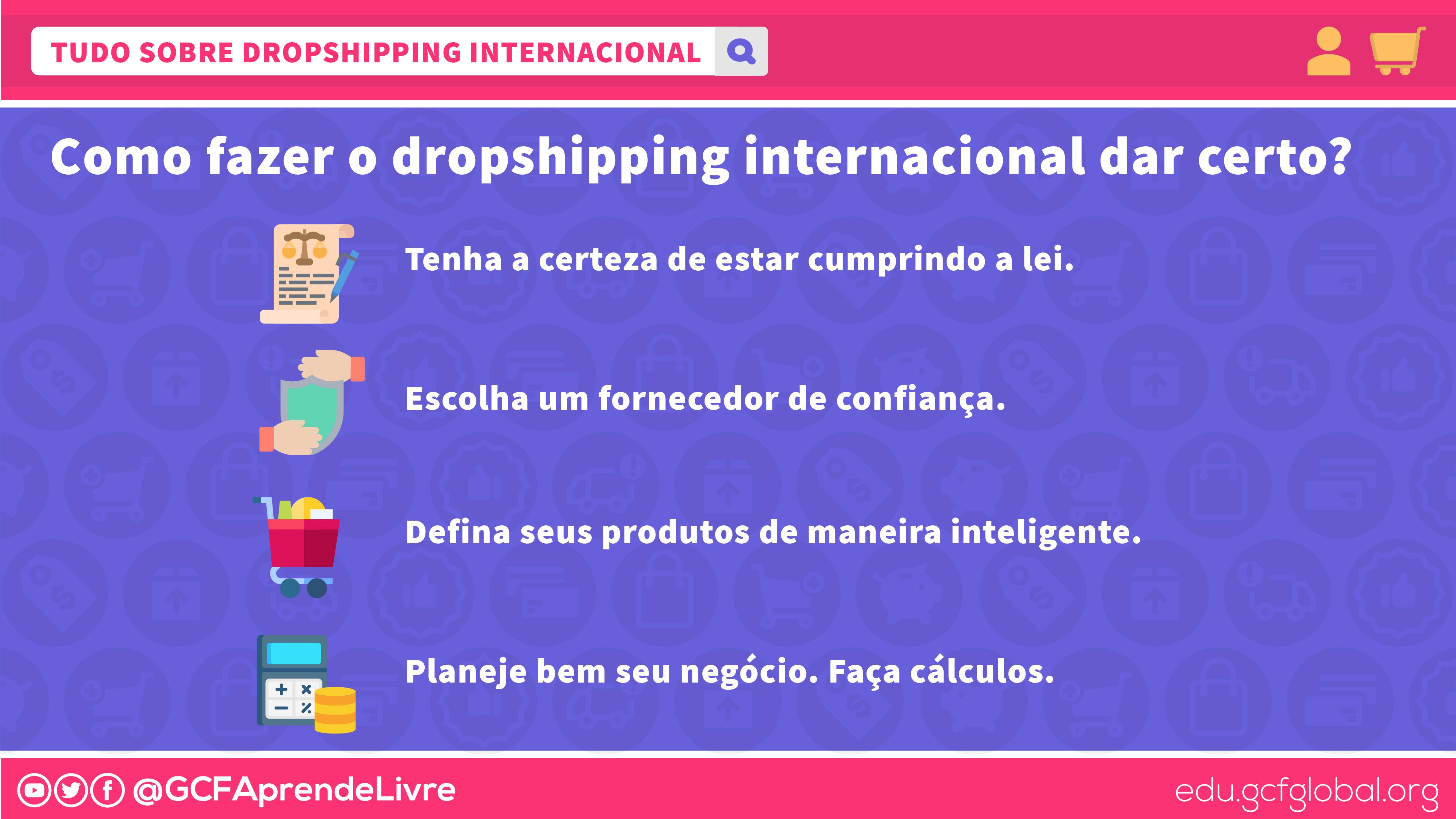 imagem1 cuidados na hora de fazer dropshipping internacional