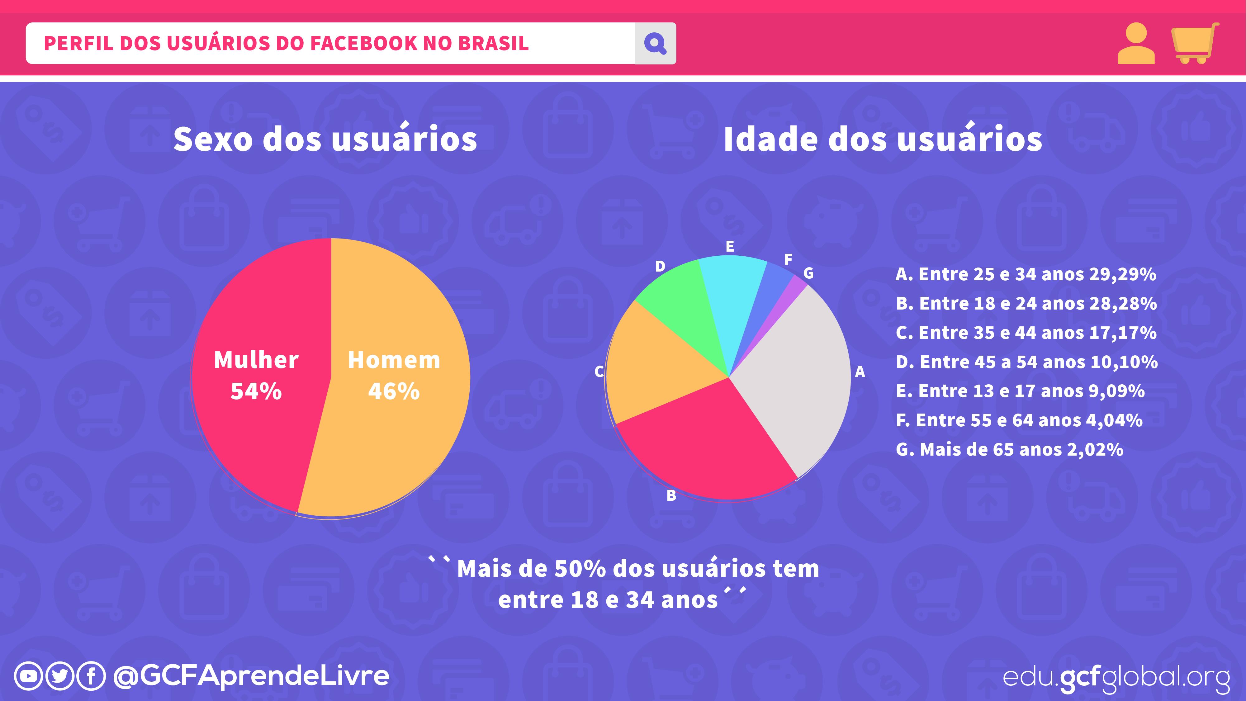 imagem1 perfil dos usuários do Facebook no Brasil