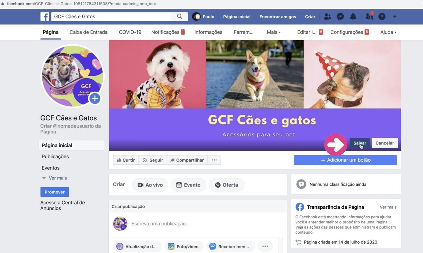 imagem9 como criar sua página empresarial no facebook