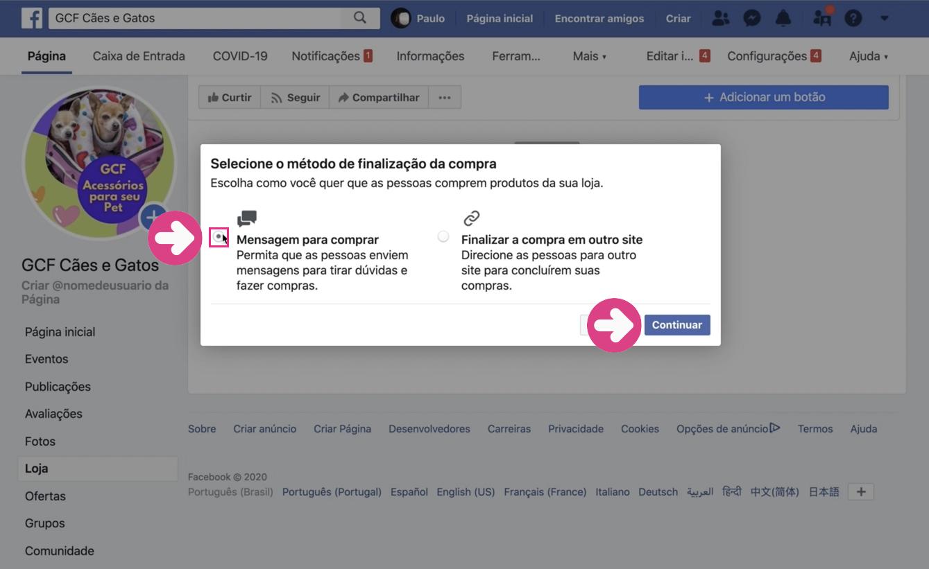 imagem3 como subir produtos na sua loja do facebook