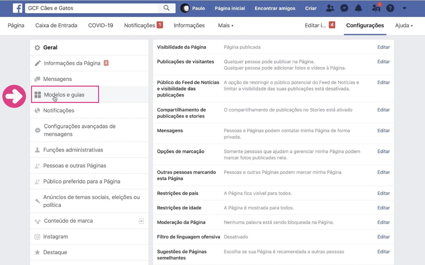 imagem2 como criar loja no facebook