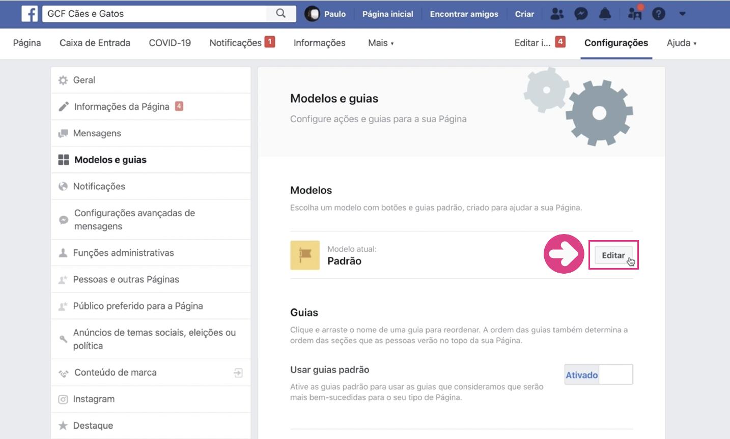 imagem3 como criar loja no facebook