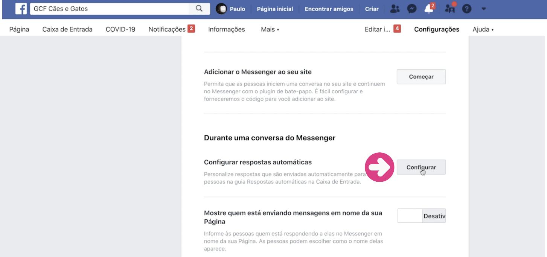 imagem4 como configurar respostas automáticas na sua página do Facebook