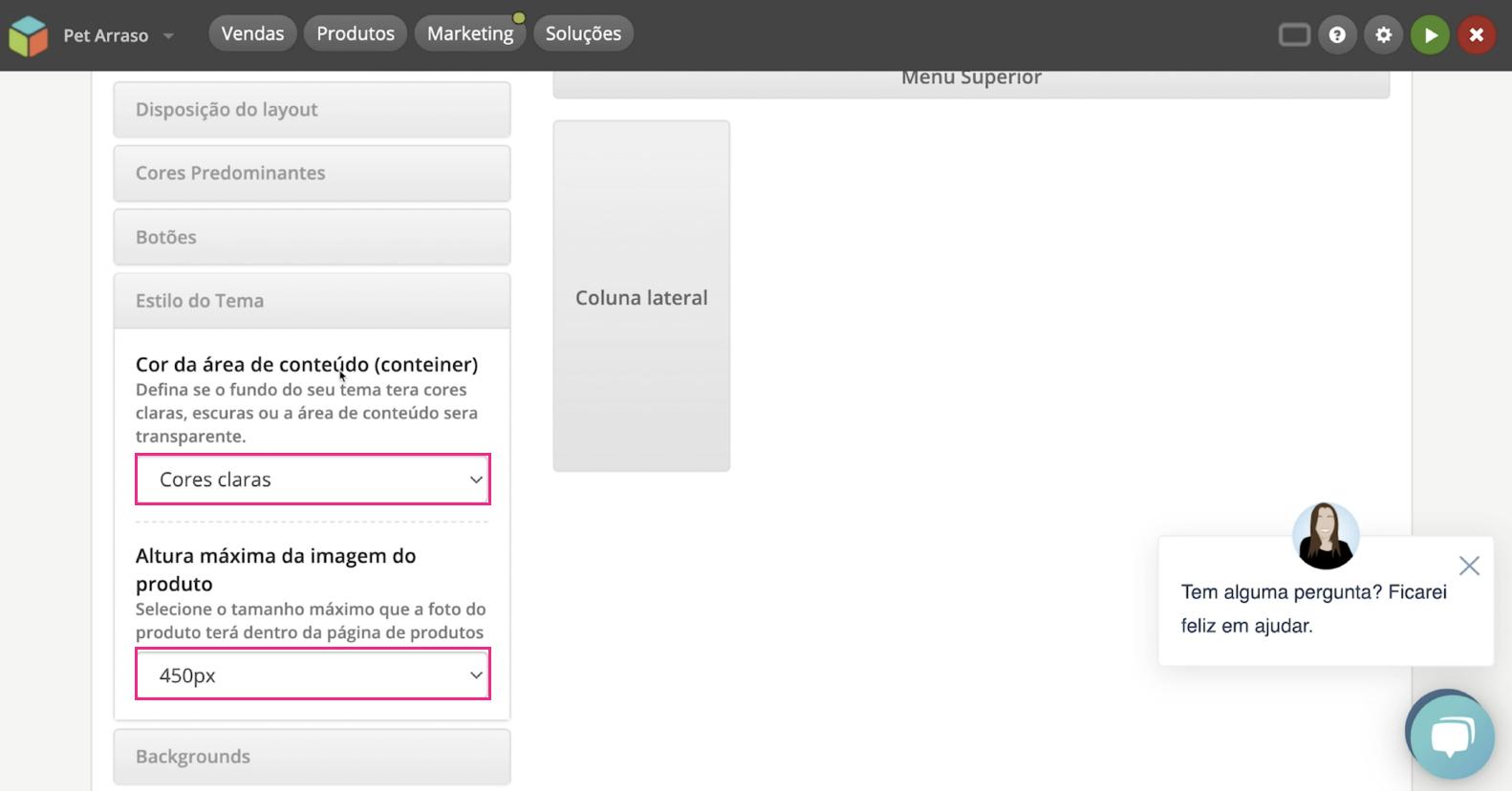 imagem12 configurar visual da sua loja na loja integrada