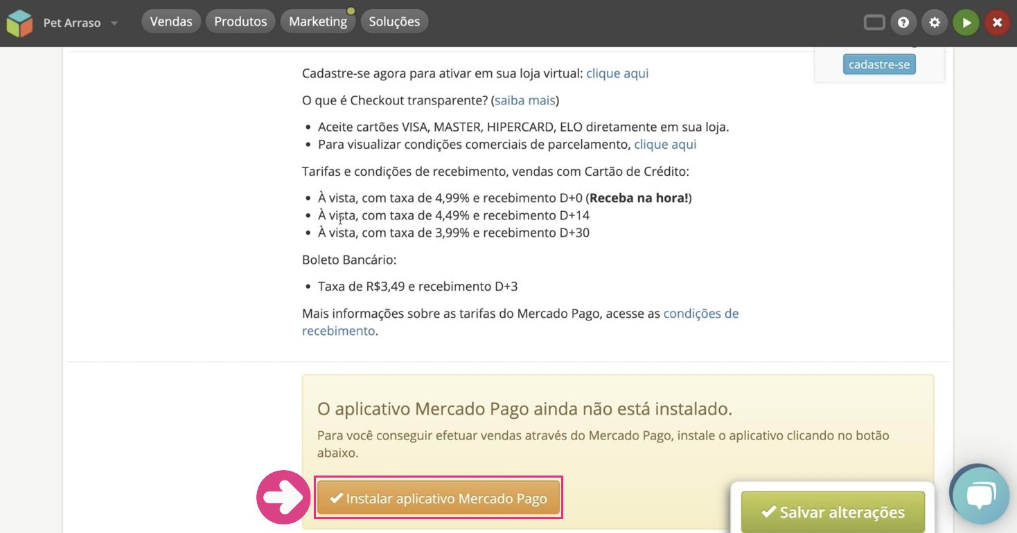 imagem4 configurar formas de pagamento da sua loja virtual na loja integrada