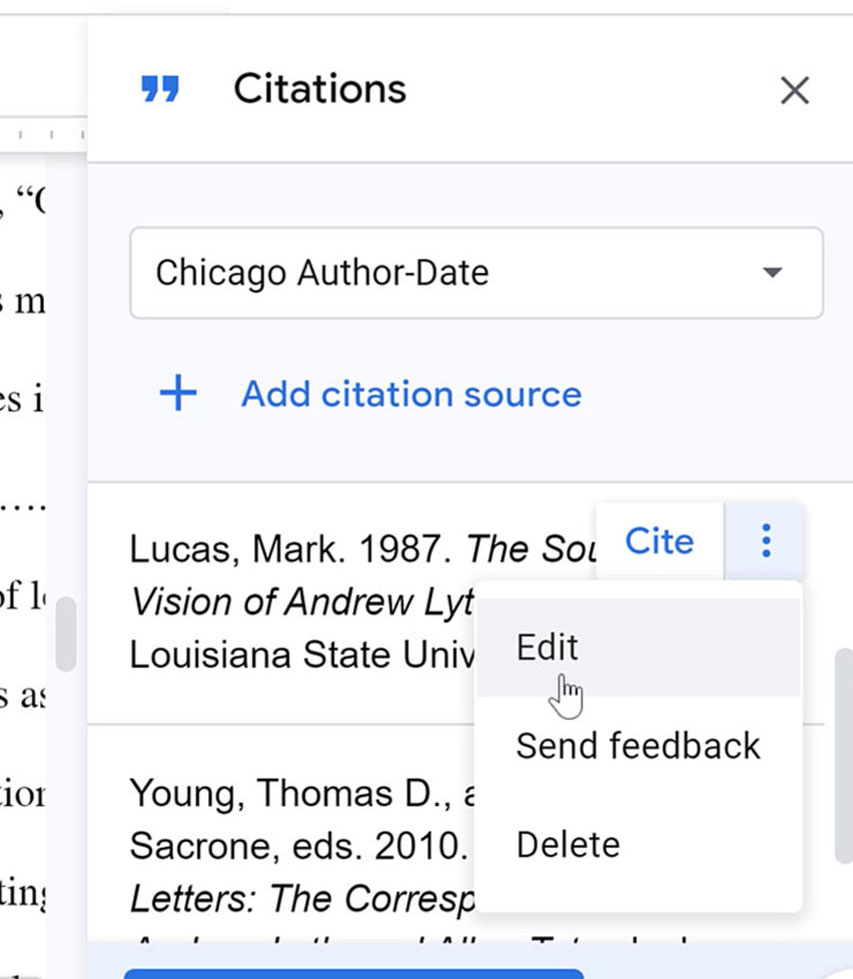editing citation source