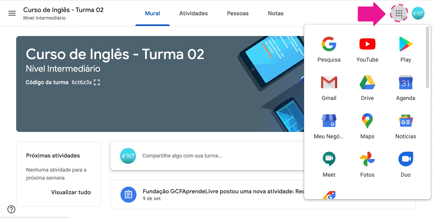 Como usar o Jamboard, o quadro do Google 1