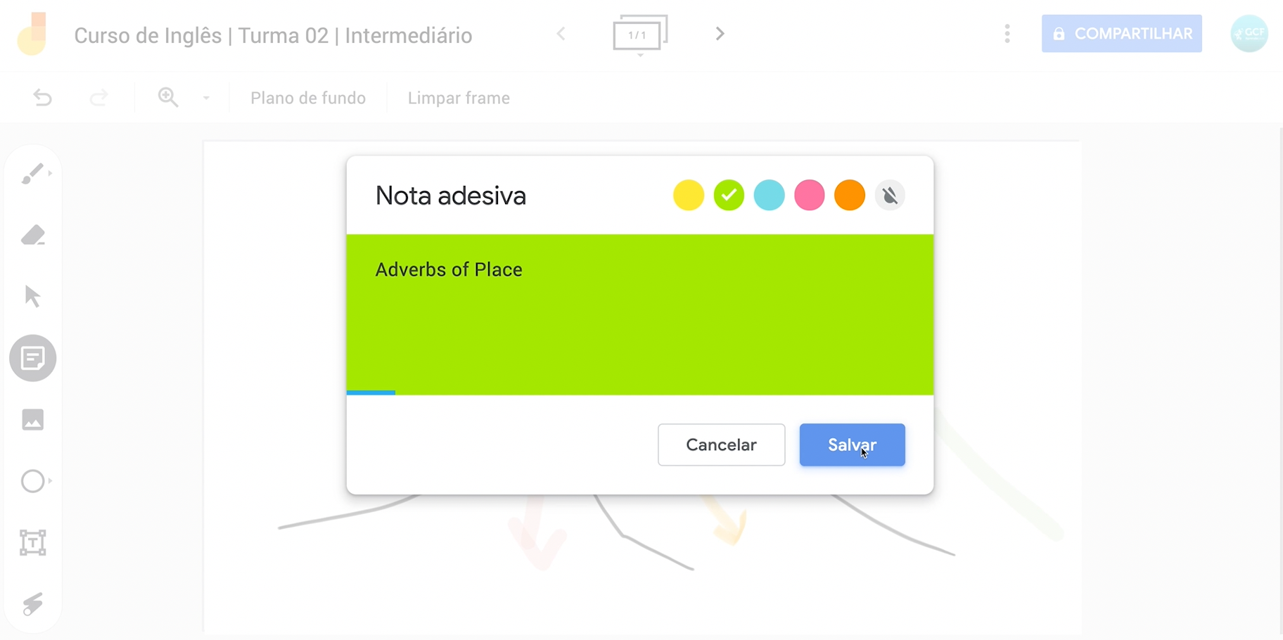 Como usar o Jamboard, o quadro do Google 11