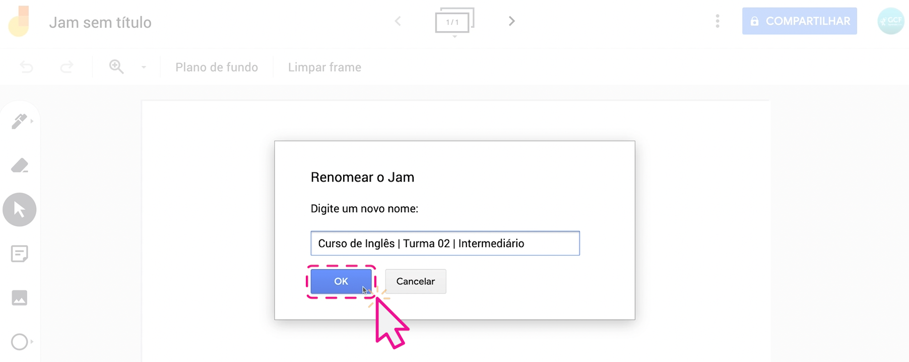 Como usar o Jamboard, o quadro do Google 4