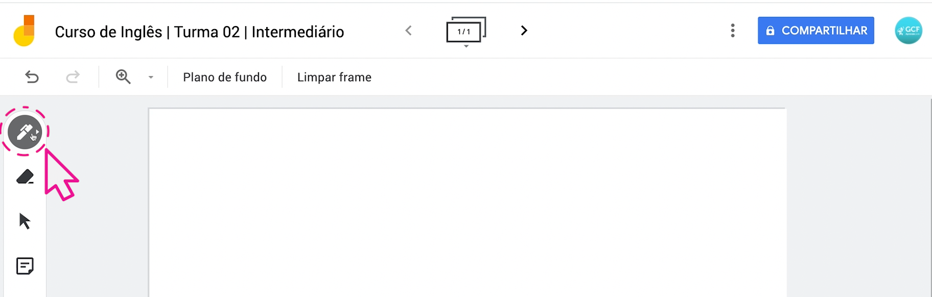 Como usar o Jamboard, o quadro do Google 6