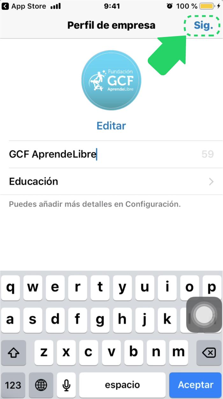 ¿Cómo añadir una foto de perfil en WhatsApp Business?