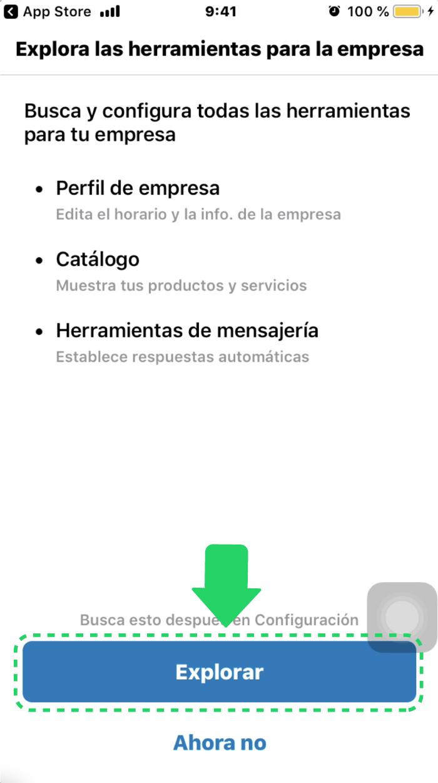 ¿Cómo configurar mi perfil de empresa en WhatsApp Business?