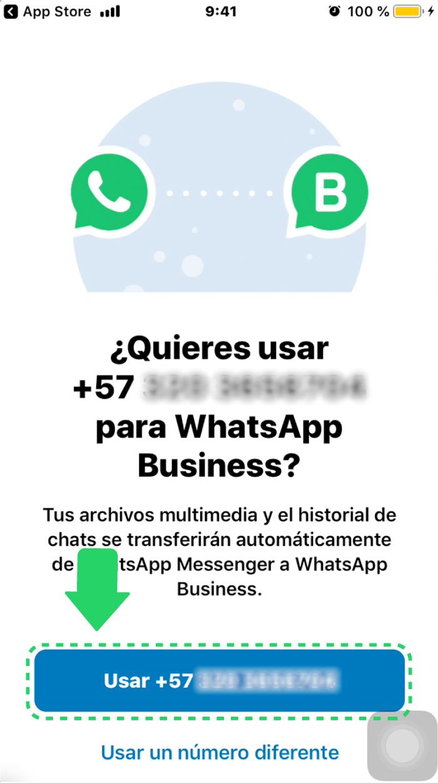 ¿Cómo vincular las cuentas de WhatsApp y WhatsApp Business?